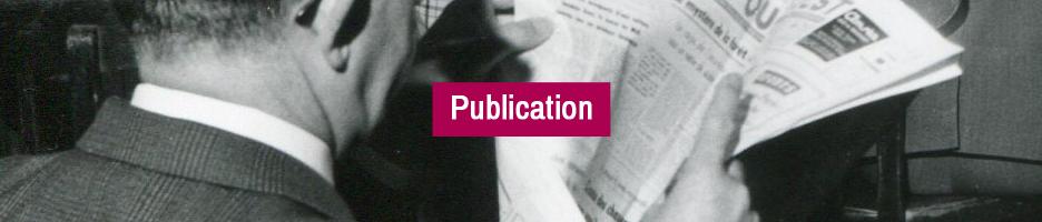 PUBLICATION : La Performance : entre archives et pratiques contemporaines