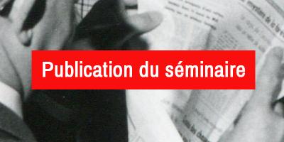 PUBLICATION DU SÉMINAIRE : Vues d'expositions