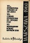 AICA-Compte rendu Congrès 08 et 09-09-1960
