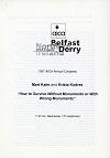 AICA-Communication de Mart Kalm et Krista Kodres-1997