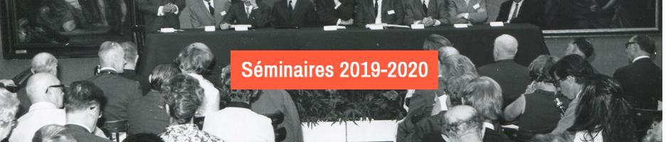 Séminaires 2019-2020